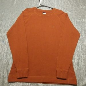 The North Face Large Orange Rust Sweater!